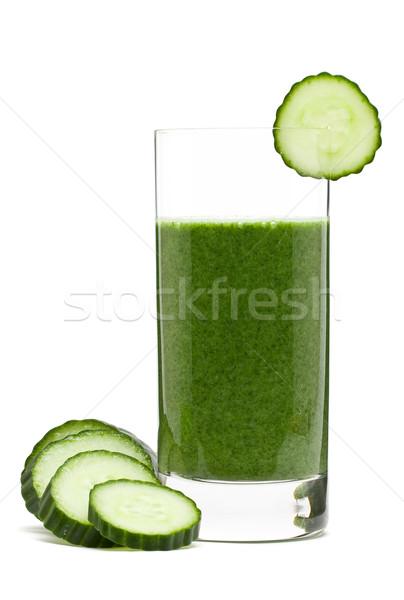 Foto d'archivio: Vegetali · spinaci · cetriolo · banana