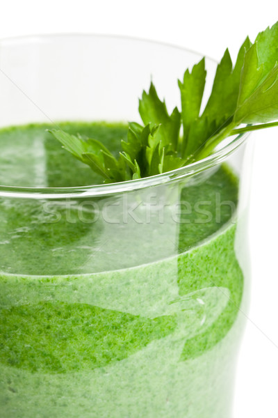 Vegetable smoothie Stock photo © ShawnHempel