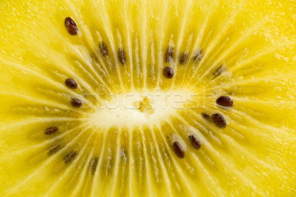 Golden kiwifruit/ kiwi macro Stock photo © ShawnHempel