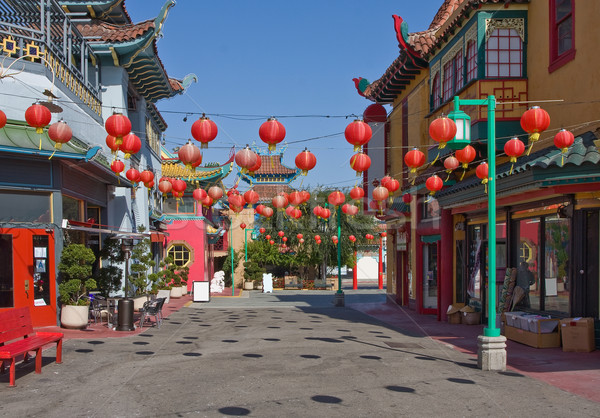 China town in Los Angeles Stock photo © ShawnHempel