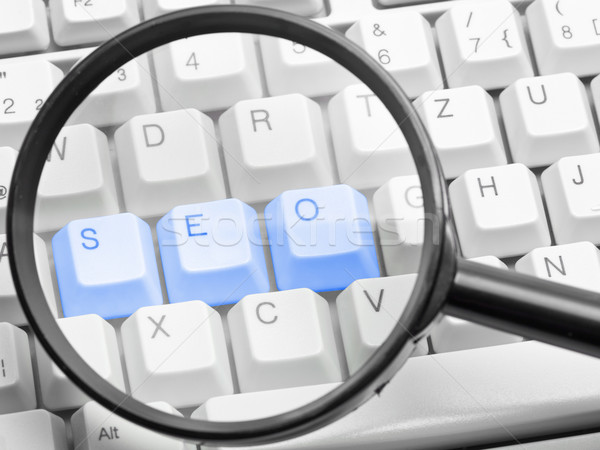 SEO - search engine optimization concept Stock photo © ShawnHempel