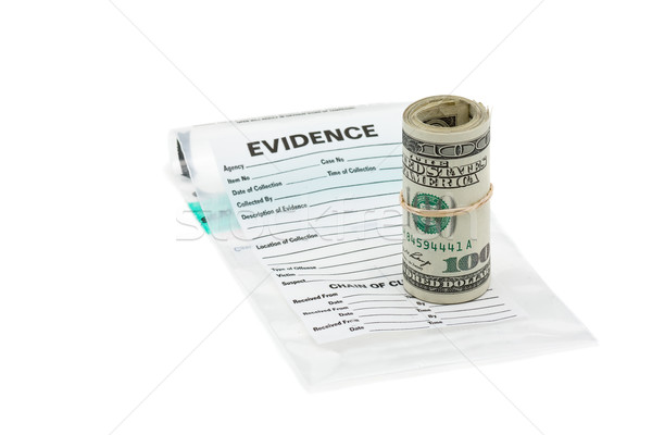 Money evidence Stock photo © ShawnHempel