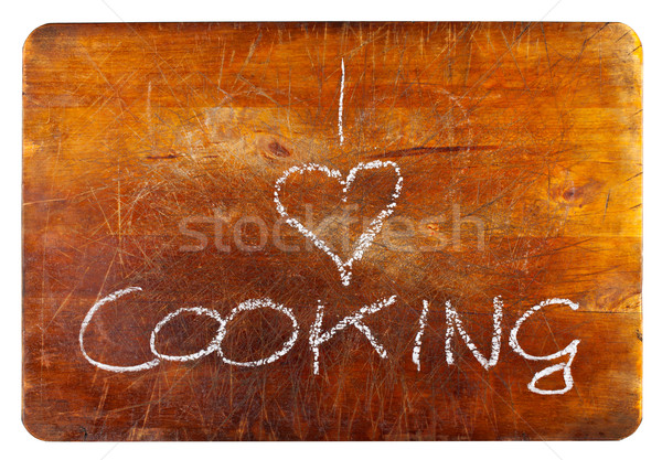 I love cooking Stock photo © ShawnHempel
