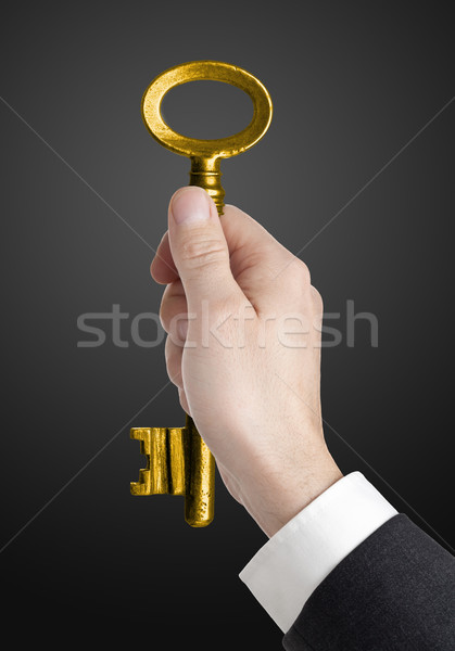 Key to success Stock photo © ShawnHempel
