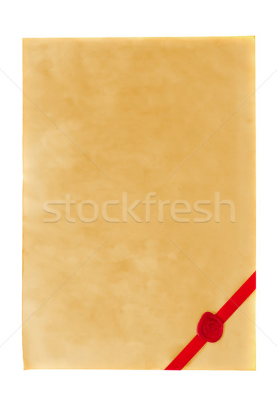 Certificate Stock photo © ShawnHempel