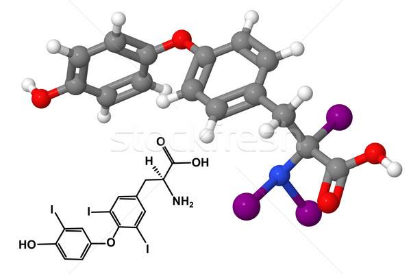 Triiodothyronine Stock photo © ShawnHempel