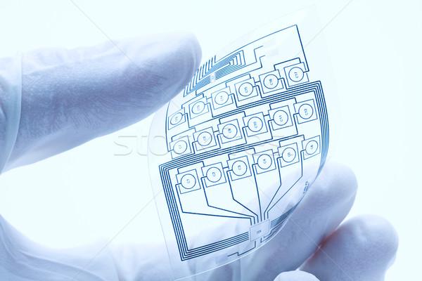 Flexible impreso eléctrica circuito técnico Foto stock © ShawnHempel