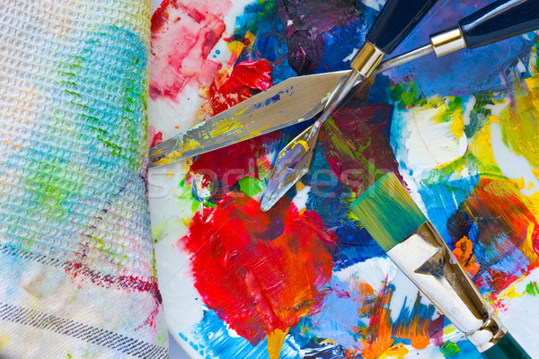 Painting tools Stock photo © ShawnHempel