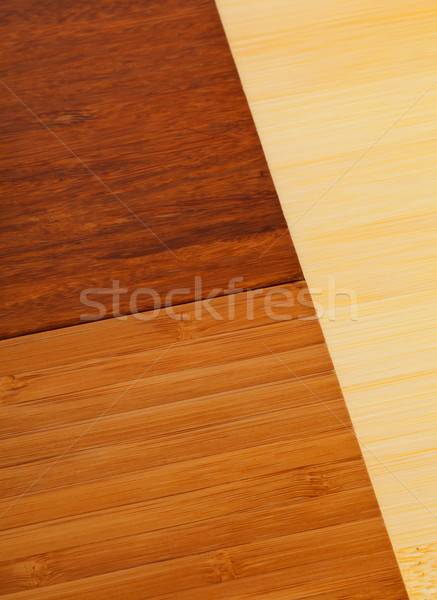 Bamboo laminate flooring samples Stock photo © ShawnHempel