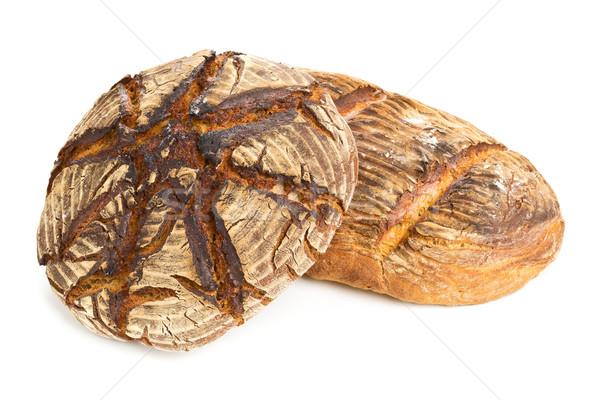 Hand made bread loaves Stock photo © ShawnHempel