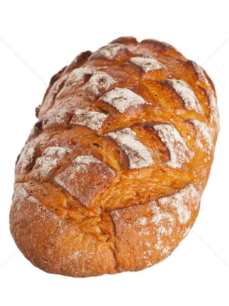 Whole loaf of farmhouse bread Stock photo © ShawnHempel