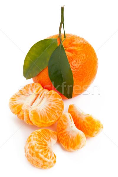 Mandarin Stock photo © ShawnHempel