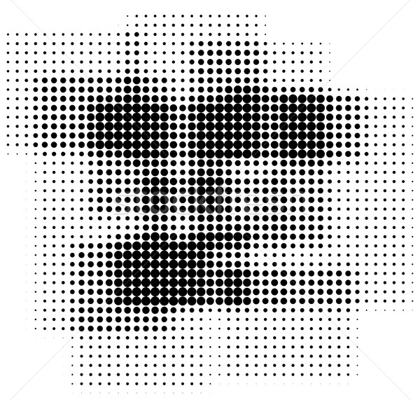 Retro halftone pop-art boxes background Stock photo © ShawnHempel
