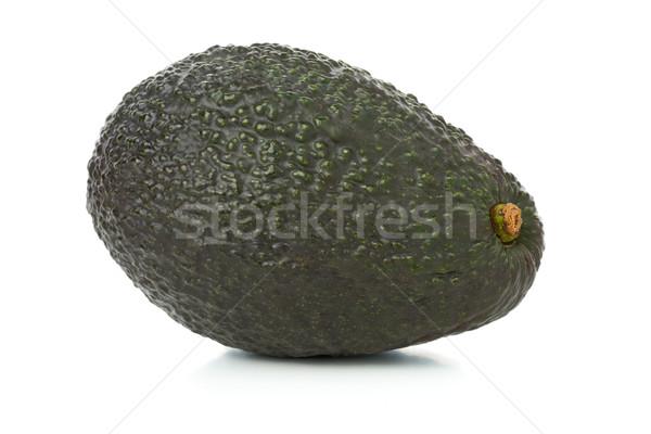 Ganze voll Avocado Obst weiß Essen Stock foto © ShawnHempel
