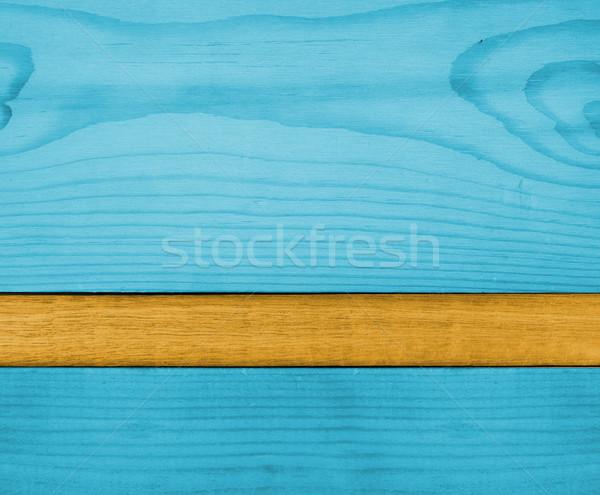 青 オレンジ 木材 ストックフォト © ShawnHempel
