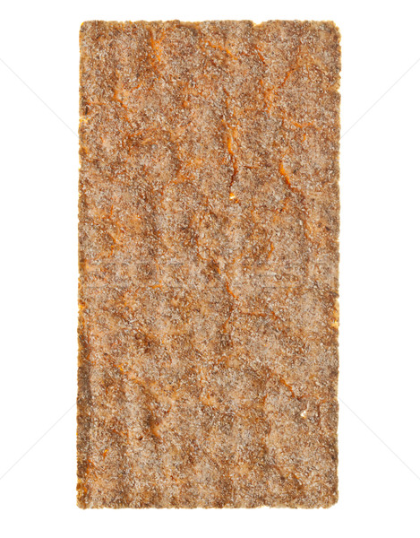 Wheat crispbread slice Stock photo © ShawnHempel