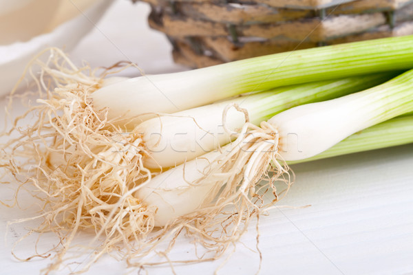 Spring onions Stock photo © ShawnHempel