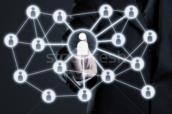 Social network connections Stock photo © ShawnHempel
