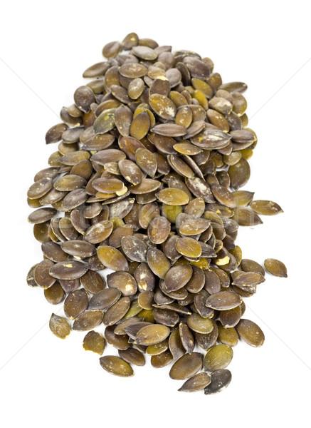 Unshelled pumpkin seeds Stock photo © ShawnHempel