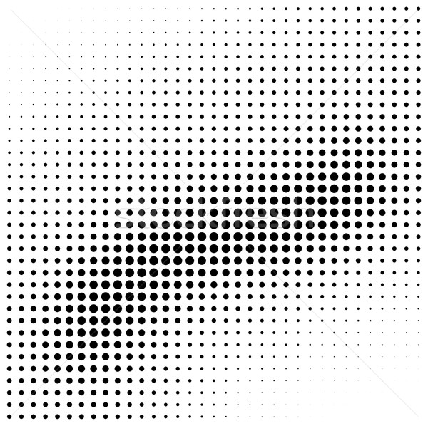 Abstract halftone wave gradient background element Stock photo © ShawnHempel