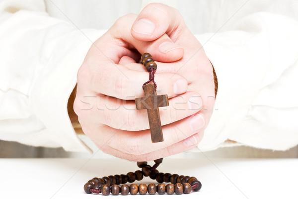 Man praying Stock photo © ShawnHempel
