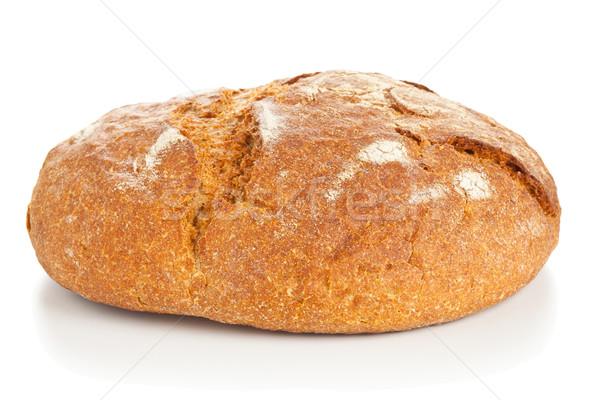 Pagnotta pane bianco tutto fresche sfondo Foto d'archivio © ShawnHempel