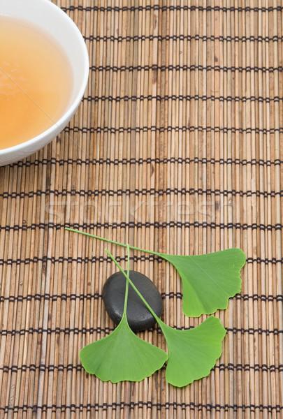 Ginkgo tea Stock photo © ShawnHempel