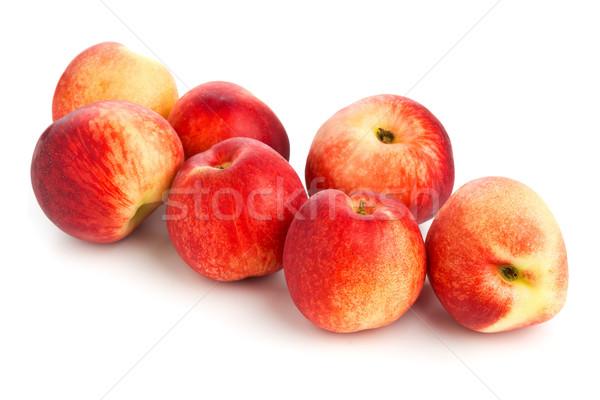 Egész fehér csoport gyümölcs egészség háttér Stock fotó © ShawnHempel