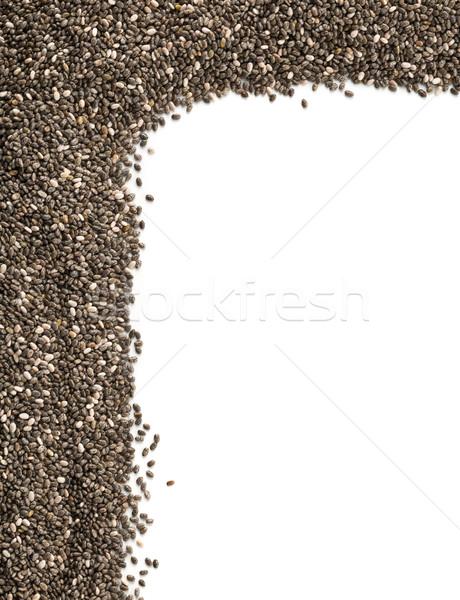Inteiro secas preto semente canto Foto stock © ShawnHempel