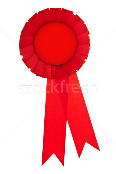 Red ribbon award Stock photo © ShawnHempel