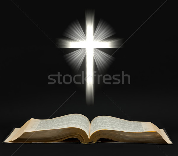 Holy bible Stock photo © ShawnHempel