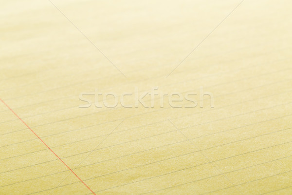 Yellow lined empty clean paper background  Stock photo © ShawnHempel