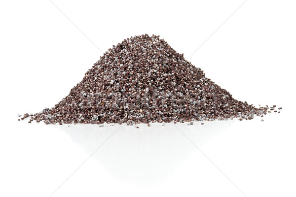 Papoula sementes branco comida Foto stock © ShawnHempel