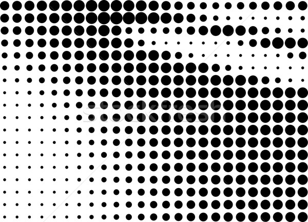 Abstract halftone gradient background Stock photo © ShawnHempel