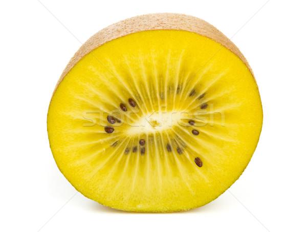 Golden kiwifruit/ kiwi half Stock photo © ShawnHempel