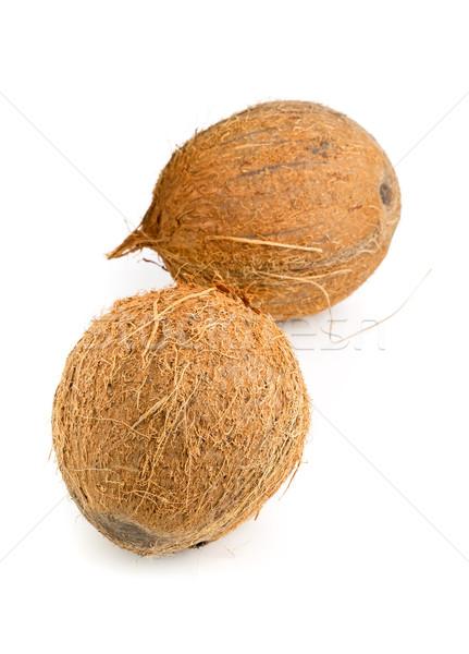 Whole coconuts Stock photo © ShawnHempel