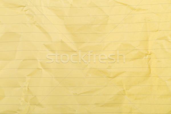 Amarelo limpar textura do papel papel arte padrão Foto stock © ShawnHempel