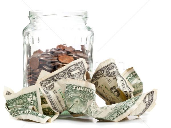 Penny jar Stock photo © ShawnHempel