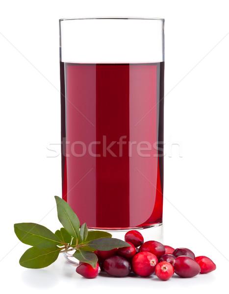 Cranberry juice Stock photo © ShawnHempel