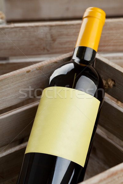White wine bottle Stock photo © ShawnHempel