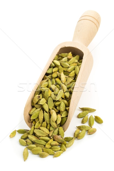 Cardamom seed pods in scoop  Stock photo © ShawnHempel