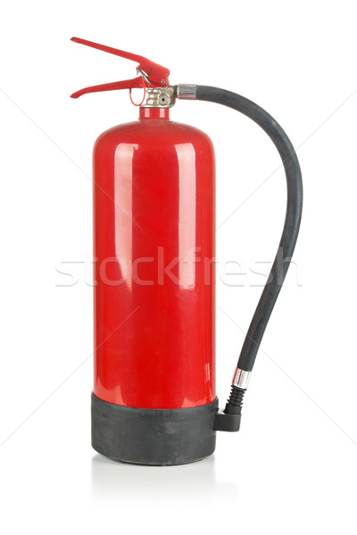 Fire extinguisher on white Stock photo © ShawnHempel