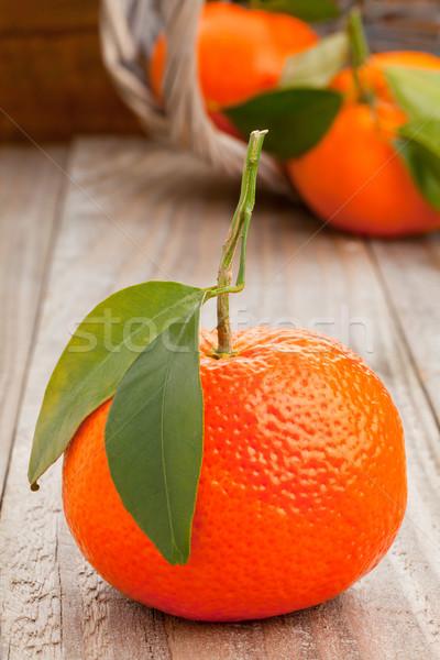 Tangerines Stock photo © ShawnHempel