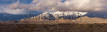 Snow covered mountains Stock photo © ShawnHempel