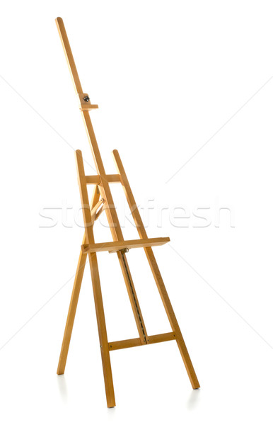 Wooden easel Stock photo © ShawnHempel