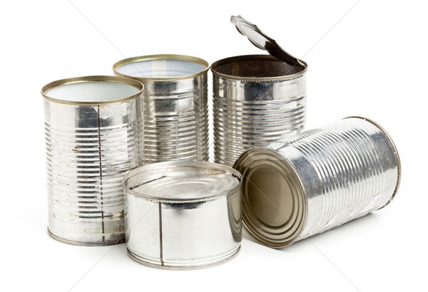 Used aluminum cans Stock photo © ShawnHempel