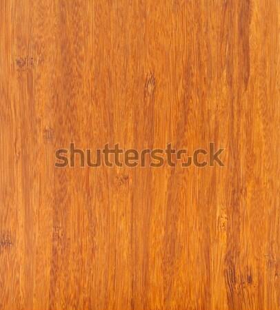 Bamboo laminate flooring texture Stock photo © ShawnHempel