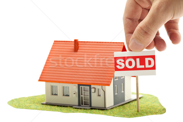 Sold house Stock photo © ShawnHempel
