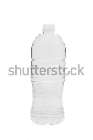 вода в бутылках полный бутылку воды белый Сток-фото © ShawnHempel
