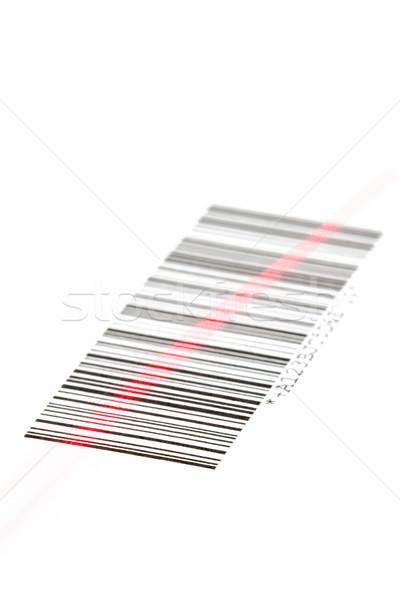 Barkod dijital lazer beyaz iş bilgisayar Stok fotoğraf © ShawnHempel